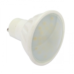 Pack of 10 Warm White 4 Watt (35W) GU10 LED Bulb - Wide Beam
