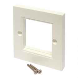 Outlet Wall Plate - White