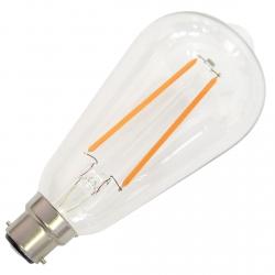 B22 Filament Dimmable LED Bulb - 4 Watt (40W)