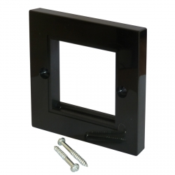 Outlet Wall Plate - Black