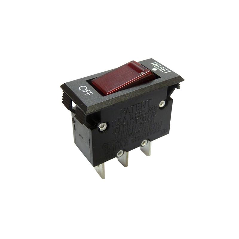 Rocker Switch Panel Mounting Thermal Circuit Breaker - 10A.