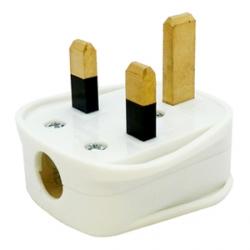 Tough Black Plug, 13A, Resilent