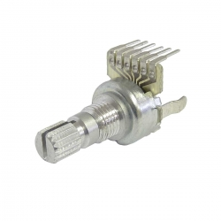 12mm Double Pole 10K Ohm Linear Rotary Potentiometer without Stop
