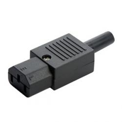 C13 Conector IEC para Ensamblar, 10A