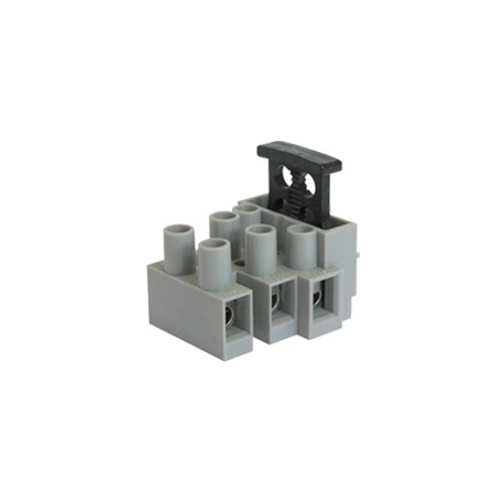 Fused Terminal Block - 3 Way