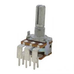 Dual Gang 10K Logarithmic Potentiometer
