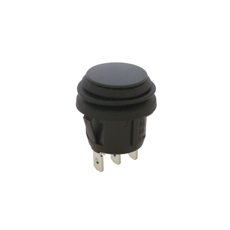 Waterproof Round Rocker Switch Momentary On Off On SPST IP65