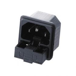 Conector IEC C14 Chasis Macho