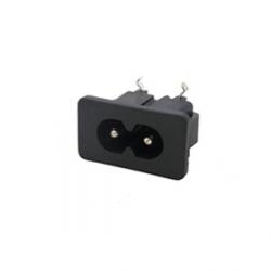 IEC Socket - 2.5A C8 Inlet