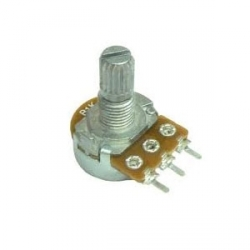 16mm 100K Ohm Log Rotary Potentiometer