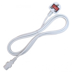 UK Plug Power Cable