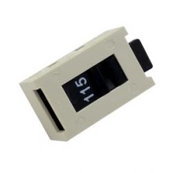 Voltage Selector Slide Switch