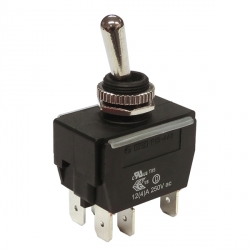 Waterproof Toggle Switch On Off On