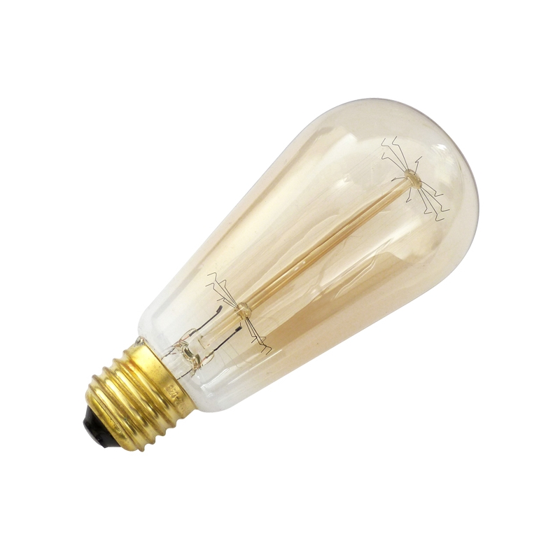 60 Watt E27 Squirrel Cage Filament Bulb