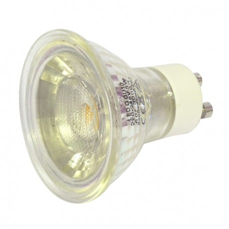 5 watt gu10 warm white led bulb halogen replacement. Black Bedroom Furniture Sets. Home Design Ideas