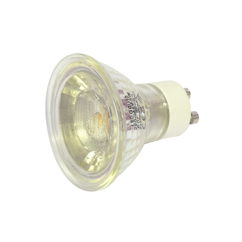 5 Watt Gu10 Warm White Led Bulb Halogen Replacement Dimmable