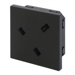 UK BS1363 Euro Module Power Socket