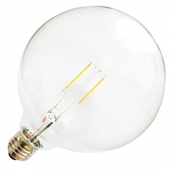 E27 G125 Filament LED Bulb - 8.5 Watt (60W)