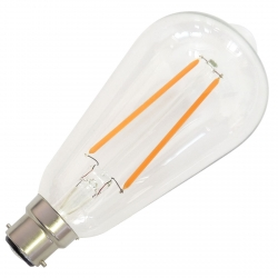 B22 Filament Dimmable LED Bulb - 4 Watt (40W)