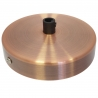 Red Bronze Colour Steel Ceiling Rose