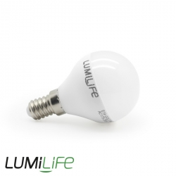 LUMiLife E14 Multi LED Mini Globe G45 Bulb - 5 Watt (37W) Cool White