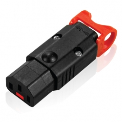 C13 IEC Lock Rewireable IEC Plug