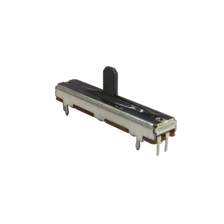 5k Ohm 30mm Linear Slide Potentiometer (Fader), with Dust Cover and Detent