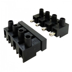 4 Way Plug and Socket Terminal Block