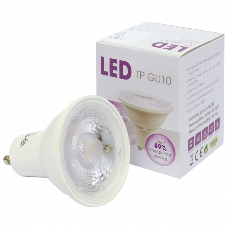 GU10 6W (60 Watt) LED Halogen Replacement Warm White - Narrow Beam 38º