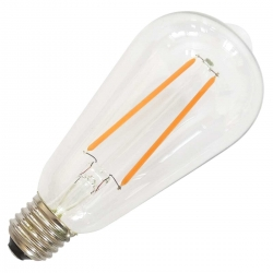 E27 Filament Dimmable LED Bulb - 4 Watt (40W)