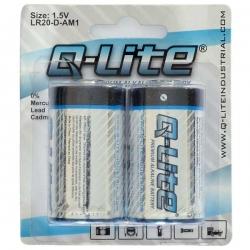 D Battery 2 Pack (LR20)