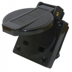IP44 UK Power Socket (BS1363) Splashproof