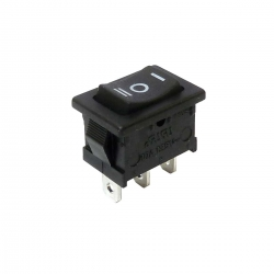 Miniature Rocker Switch On-Off-On
