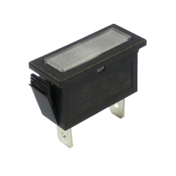 White Rectangular Indicator Light 240V