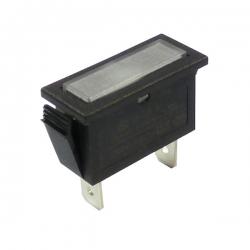 White Rectangular Indicator Light 240V