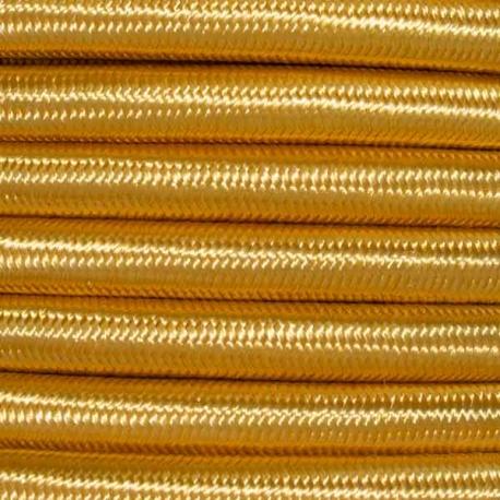 Celtic Gold Fabric Cable   2 & 3 Core Fabric Flex
