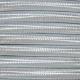 Light Grey Fabric Cable   2 & 3 Core Fabric Flex
