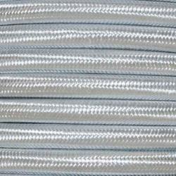 Light Grey Fabric Cable | 2 & 3 Core Fabric Flex