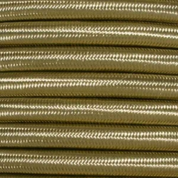 Gold Nugget Fabric Cable | 2 & 3 Core Fabric Flex