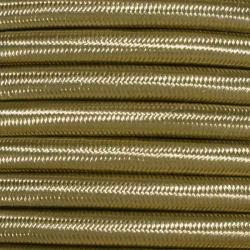 Gold Nugget Fabric Cable   2 & 3 Core Fabric Flex