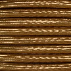 Old Gold Fabric Cable   2 & 3 Core Fabric Flex