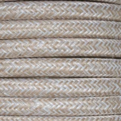 Linen Fabric Cable | 2 & 3 Core Fabric Flex