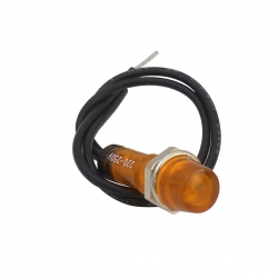 Amber 7mm Indicator Light 240V