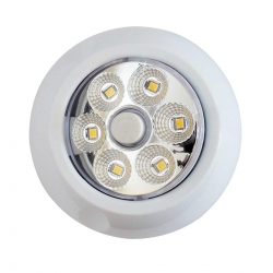Surface Mount LED Light with Push Button Rotate and Swivel Function