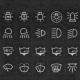 Marine Sticker Set for Illuminated Switches
