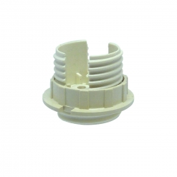 Threaded Plastic Body and Ring for Low Voltage Lampholders