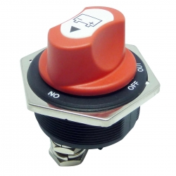 Marine Battery Isolator Switch 300 Amp Removable Actuator IP56