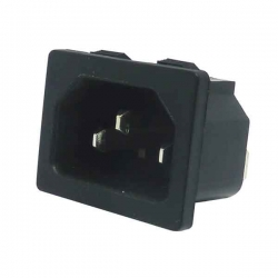 IEC Socket C14 Power Inlet