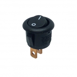 Round Rocker Switch - Small
