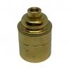 Brass E27 Lamp Holder (Plain Body) 10mm Entrance